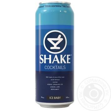 Напій слабоалкогольний Shake Айс Бейбі 7% 0,5л