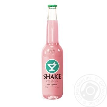 Напиток слабоалкогольный Шейк Текила Сомбреро 7%об. 330мл