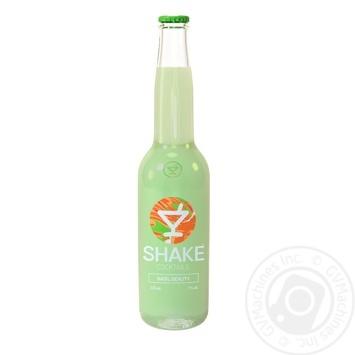 Напиток слабоалкогольный Шейк коктейль Безил Бьюти 7% 0,33л