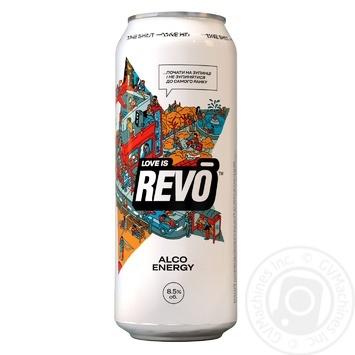 Напій слабоалкогольний енергетичний Revo Лімітована версія 8,5% 0,5л - купити, ціни на Novus - фото 1