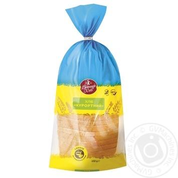 Хліб Вінниця хліб Курортний нарізаний 650г - купить, цены на Ашан - фото 1
