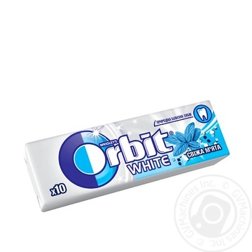 Orbit White Freshmint Chewing Gum 14g - buy, prices for Tavria V - image 1
