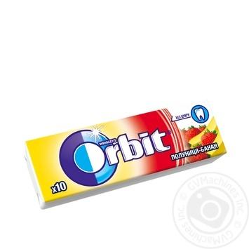 Orbit Wrigley's strawberries-banana chewing gum 14g - buy, prices for Novus - image 1