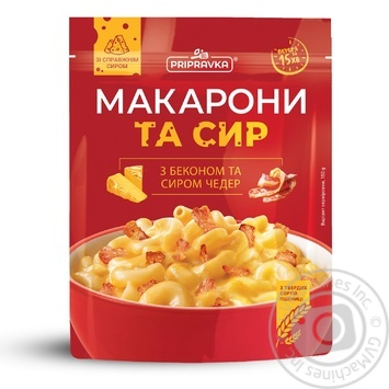 Prypravka With Cheddar And Bacon Pasta 150g - buy, prices for MegaMarket - image 1