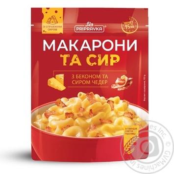 Макароны и сыр Приправка с беконом и сыром чеддер 150г - купить, цены на Таврия В - фото 1