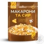 Макароны и сыр Pripravka с грибами и сыром чеддер 150г