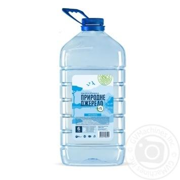 Вода питьевая Природне джерело з артезиан.скважины 6л - купить, цены на Фуршет - фото 1