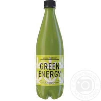 Напиток энергетический Green Energy сильногазированный 0,5л - купить, цены на Novus - фото 1