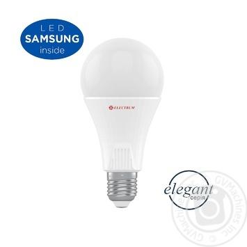 Лампа Electrum светодиодная A80 18W PA LS-33 Elegant Е27 6500 A-LS-1453 - купить, цены на УльтраМаркет - фото 3