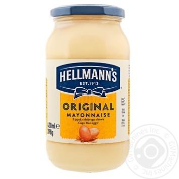 Hellmanns Original Mayonnaise 74% 420ml