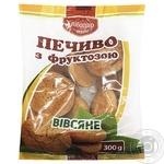 Печиво Хлібодар вівсяне з фруктозою 300г