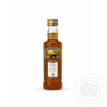 Настойка Zubrowka Zlota Vodka 37,5% 0,2л