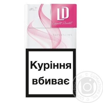 Цигарки LD Super Slims Pink - купити, ціни на Метро - фото 2