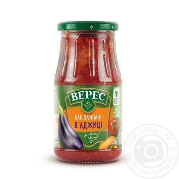 Баклажани Верес в аджиці 500г - купити, ціни на МегаМаркет - фото 4