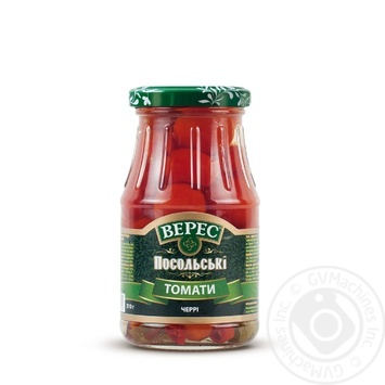 Томаты Верес Посольские Черри маринованные 310г - купить, цены на ЕКО Маркет - фото 2