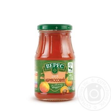 Veres Jam Apricot 370g - buy, prices for Tavria V - image 1