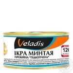 Ікра Минтая пробійна підкопчена Veladis 120г