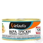 Икра Трески пробойная подкопченная Veladis 120г