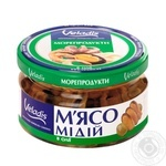 Mussels in oil Veladis 200g