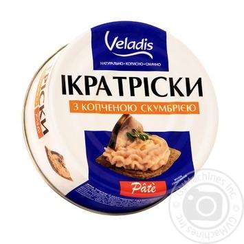 Икра трески Pate с копченой скумбрией Veladis 100г - купить, цены на Таврия В - фото 1