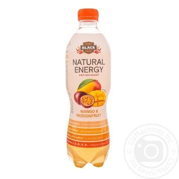 Black Energy Natural Energy Drink Mango Passion fruit 500ml - buy, prices for Furshet - image 1