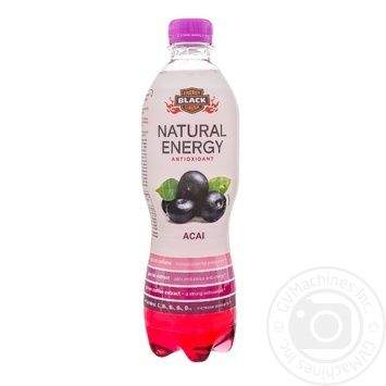 Black Energy Natural Energy Drink Asai 500ml - buy, prices for Furshet - image 1