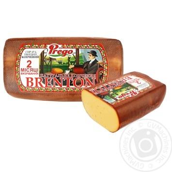 Сыр Brenton Prego копченый 45% весовой