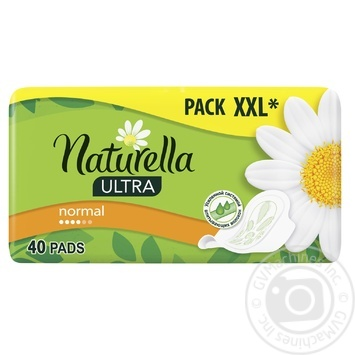 Naturella Ultra Normal Hygienical Pads 40pcs - buy, prices for Novus - image 1