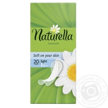 Прокладки ежедневные Naturella Сamomile Light 20шт - купить, цены на Ашан - фото 1