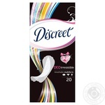 Liners Discreet Deo Irresistable Multiform 20pcs