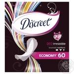 Щоденні прокладки Discreet Deo Irresistible Multiform 60шт