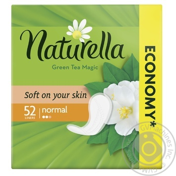 Naturella Green Tea Magic Normal Daily pads 52pcs - buy, prices for MegaMarket - image 1