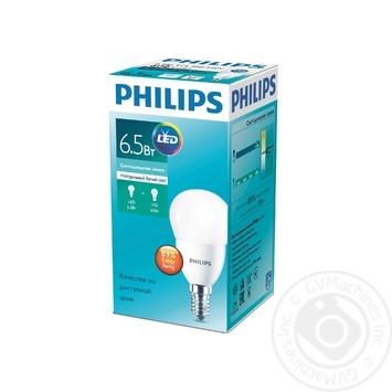 Лампа светодиодная Philips ESSLEDLustre 6.5-75W E14 840 P45NDFR RCA - купить, цены на Novus - фото 1