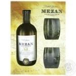 Ром Mezan Jamaica XO 40% 0.7л + 2 склянки