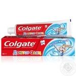 Детская зубная паста Colgate Доктор Заяц со вкусом жевательной резинки 50мл - купить, цены на Novus - фото 1