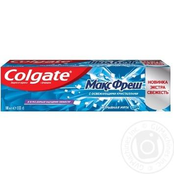 Colgate Max Fresh Explosive mint Toothpaste 100ml