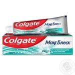 Зубная паста Colgate МаксБлеск отбеливающая 100мл
