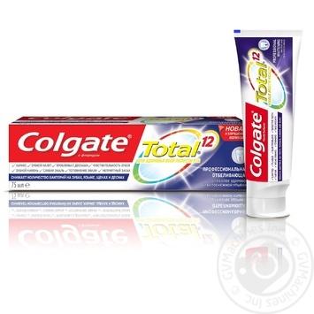 Colgate Professional Whitening Toothpaste 75ml - buy, prices for Furshet - image 1