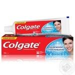 Зубная паста Colgate Бережное отбеливание с фторидом и кальцием 100мл