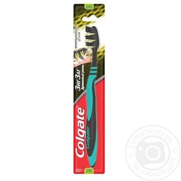 Зубная щетка Colgate Зиг Заг Древесный уголь средней жесткости в ассортименте - купить, цены на Таврия В - фото 1