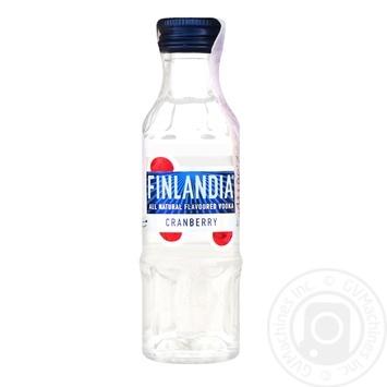 Finlandia Cranberry Vodka 37.5% 50ml - buy, prices for CityMarket - photo 1