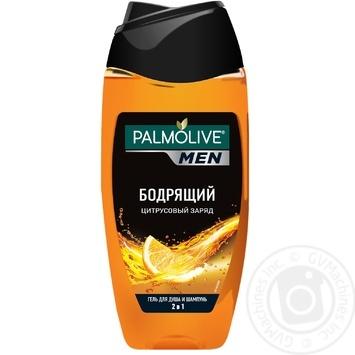 Palmolive Men Shower gel Citrus charge 250ml - buy, prices for Furshet - image 1