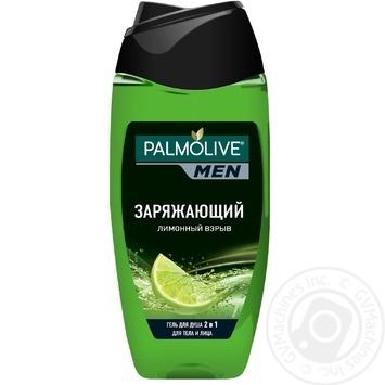 Гель для душу Palmolive MEN Заряджаючий Лимонний вибух чоловічий 2в1 для тіла і обличчя 250мл - купити, ціни на Novus - фото 1