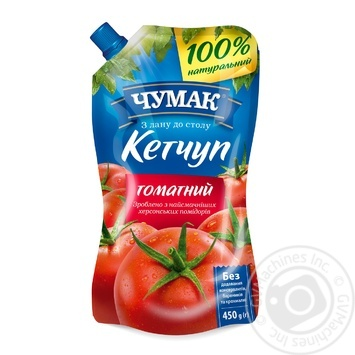 Chumak Tomato Ketchup 450g - buy, prices for MegaMarket - image 1