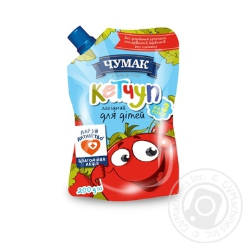 Ketchup Chumak Gentle for Children 200g - buy, prices for MegaMarket - image 1