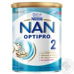 Dry milk formula Nestle Nan 2 for 6+ months babies 800g