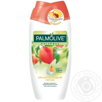 Palmolive Naturals Shower gel Soft and sweet peach 250ml - buy, prices for Furshet - image 1