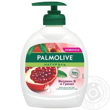 Жидкое крем-мыло для рук Palmolive Натурэль Витамин B и Гранат 300мл