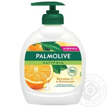 Мыло Palmolive Натурэль Витамин С и Апельсин жидкое 300г