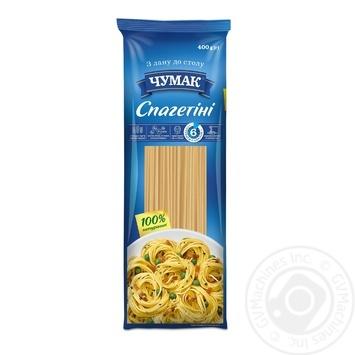 Макарони Чумак Спагетіні 400г - купити, ціни на МегаМаркет - фото 1